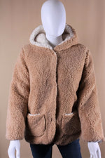 Kid's Sherpa Jacket with Hoodie