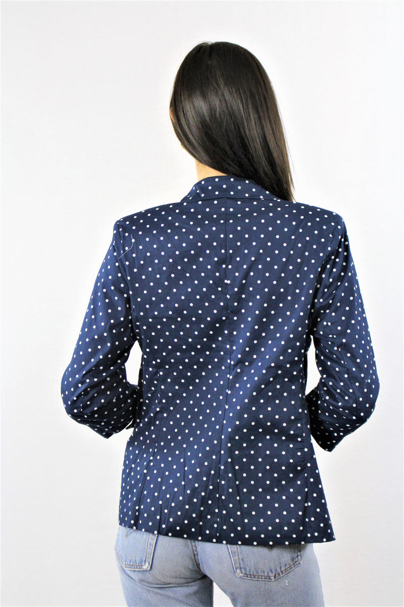 3/4th Sleeve Dotted Coat