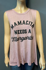 "Women's Printed ""Mamacita"" Muscle Tank Top (LAST PACK)"