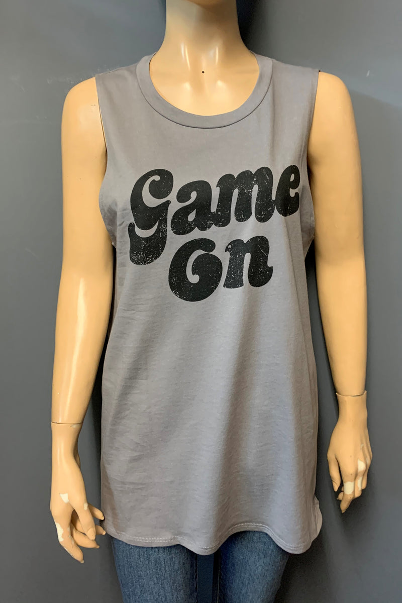 "Women's Printed ""Game On"" Tank Top"