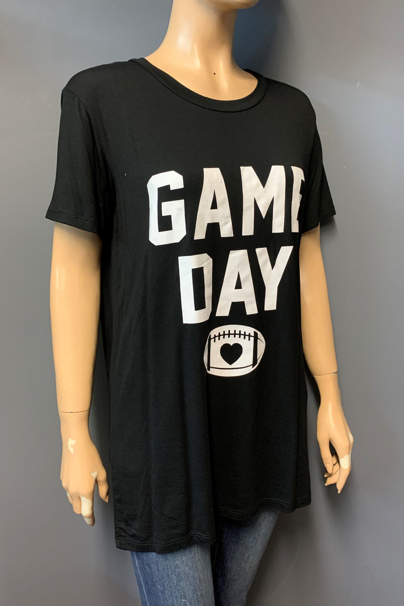 "Women's Printed ""Game Day"" Top (LAST PACK)"