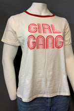 "Women's Plus Size Printed ""Girl Gang"" Top (LAST PACK)"