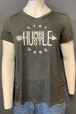 "Women's Plus Size Printed ""Stay Humble"" Top (LAST PACK)"