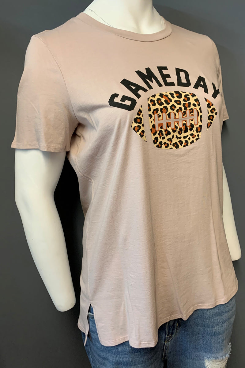 "Women's Plus Size Printed ""Game Day"" Top (LAST PACK)"
