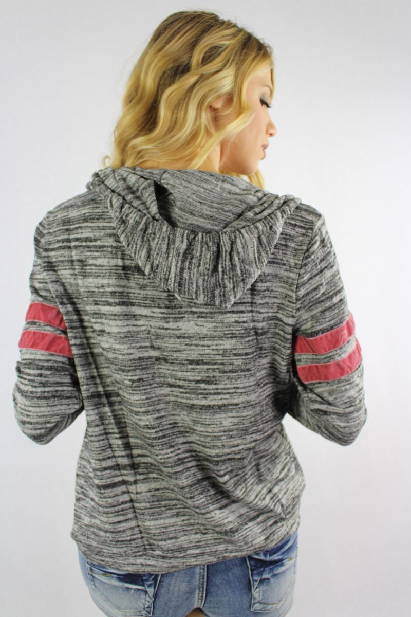 Women's Long Sleeve Hoodie with Front Pockets