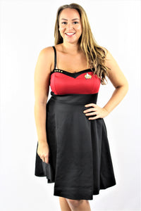 Plus Size Star Trek Mini Dress
