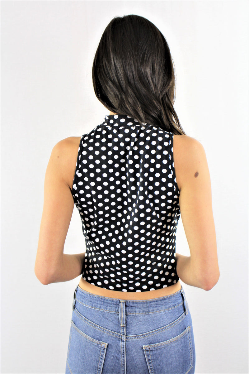 Women's Sleeveless Cropped Top