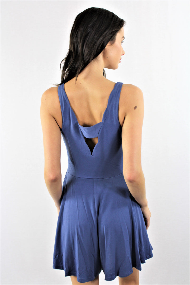 High Low Relaxed Fit Romper