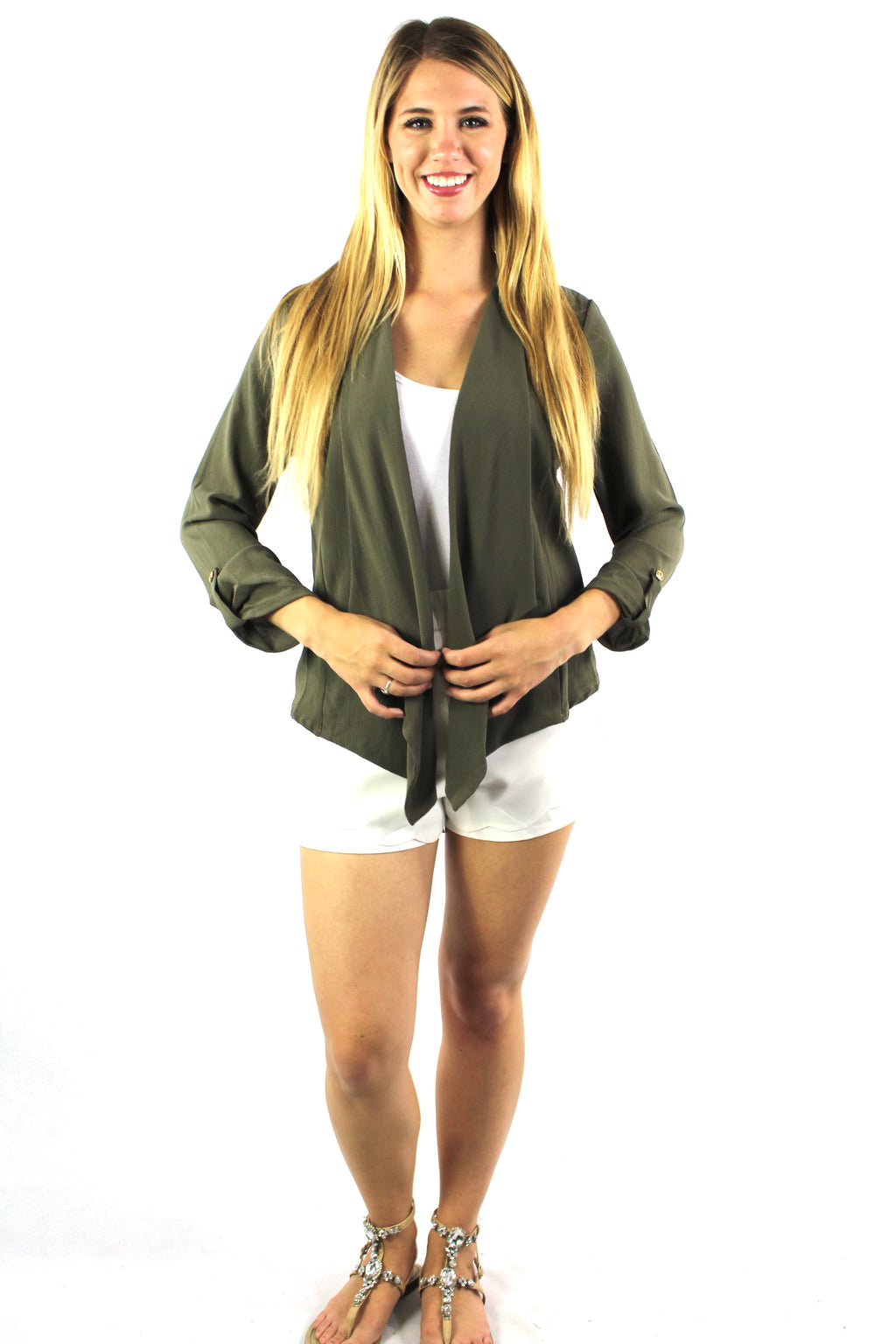 Women's Long Sleeve Light Weight Cardigan