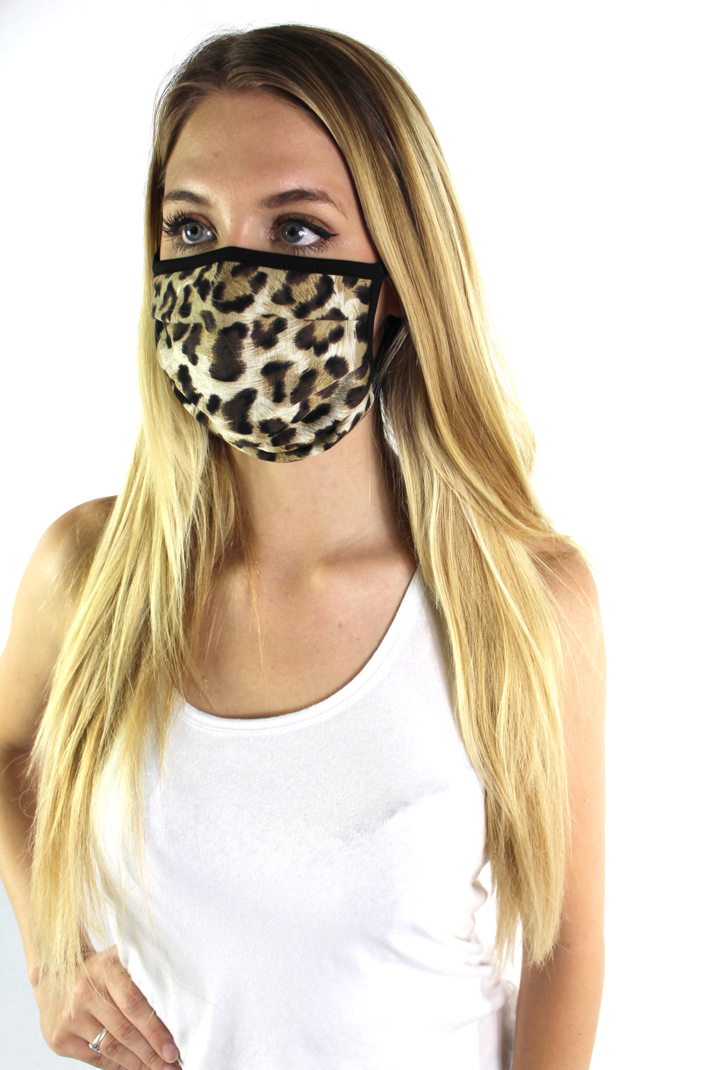 Animal Print Comfortable Double Layer Face Mask