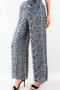 Printed Loose Fitting Pants