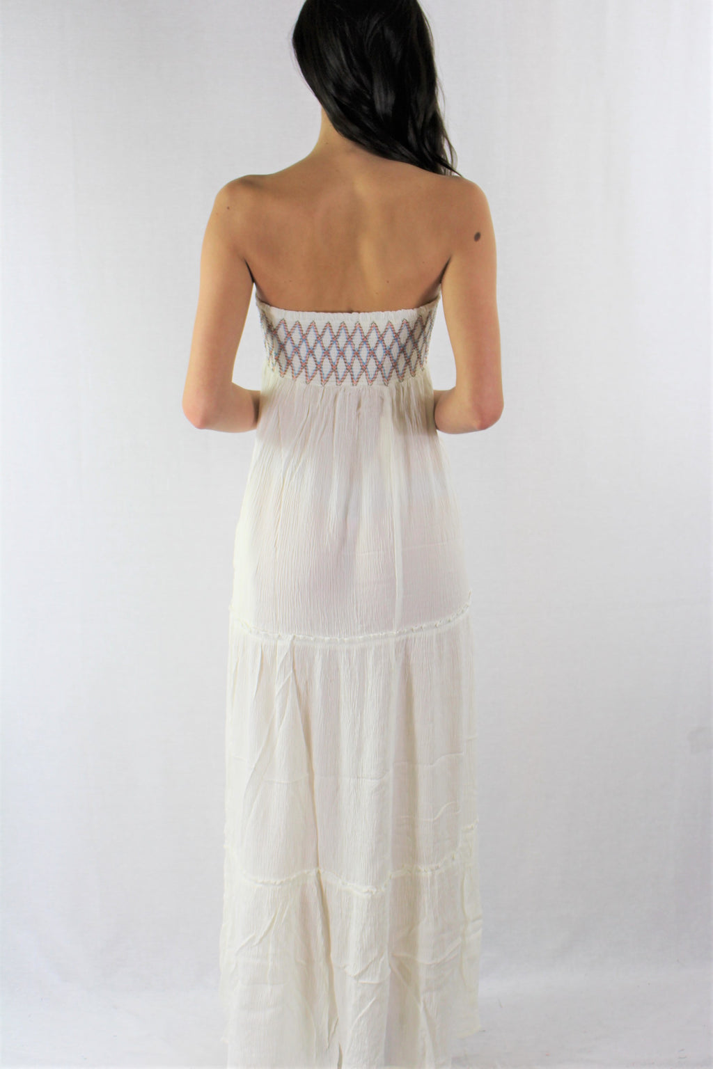 Women's Casual Strapless Dress