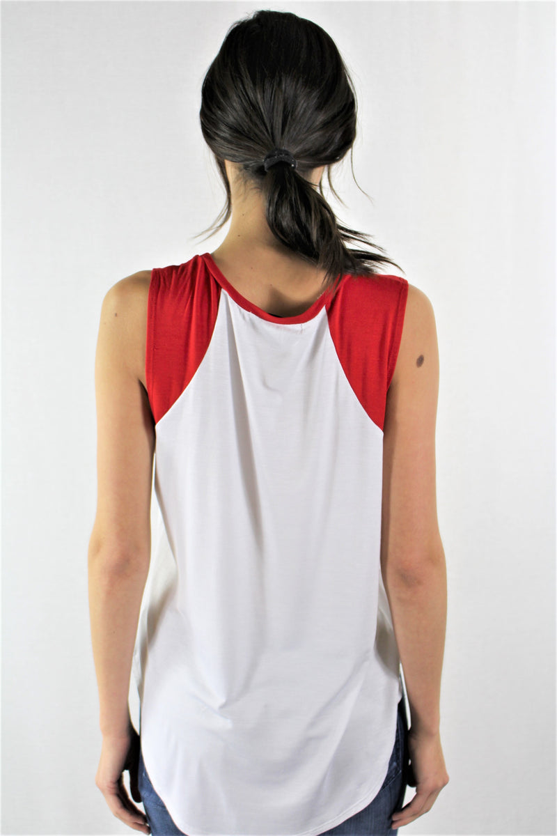 Sleeveless Team USA Top