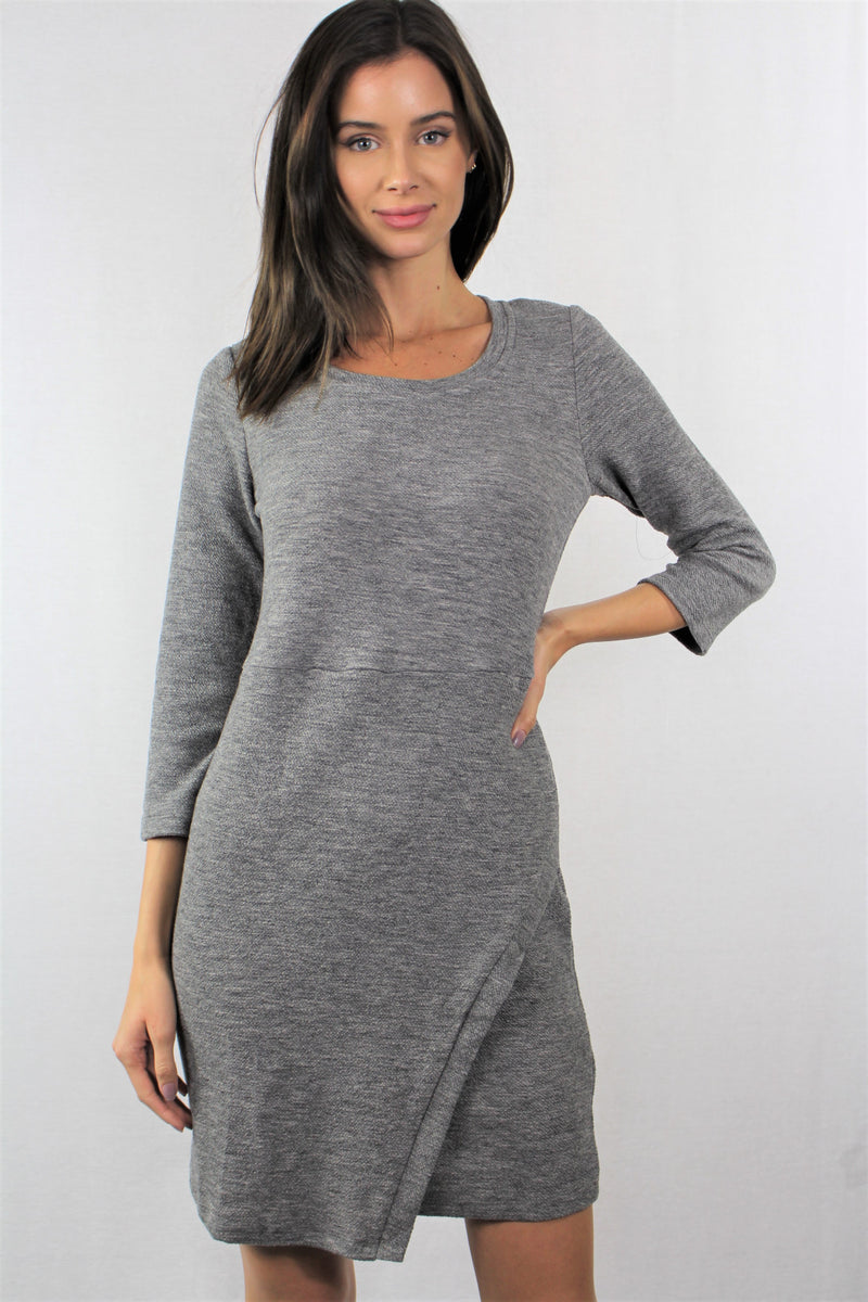 3/4th Sleeve Bodycon Dress