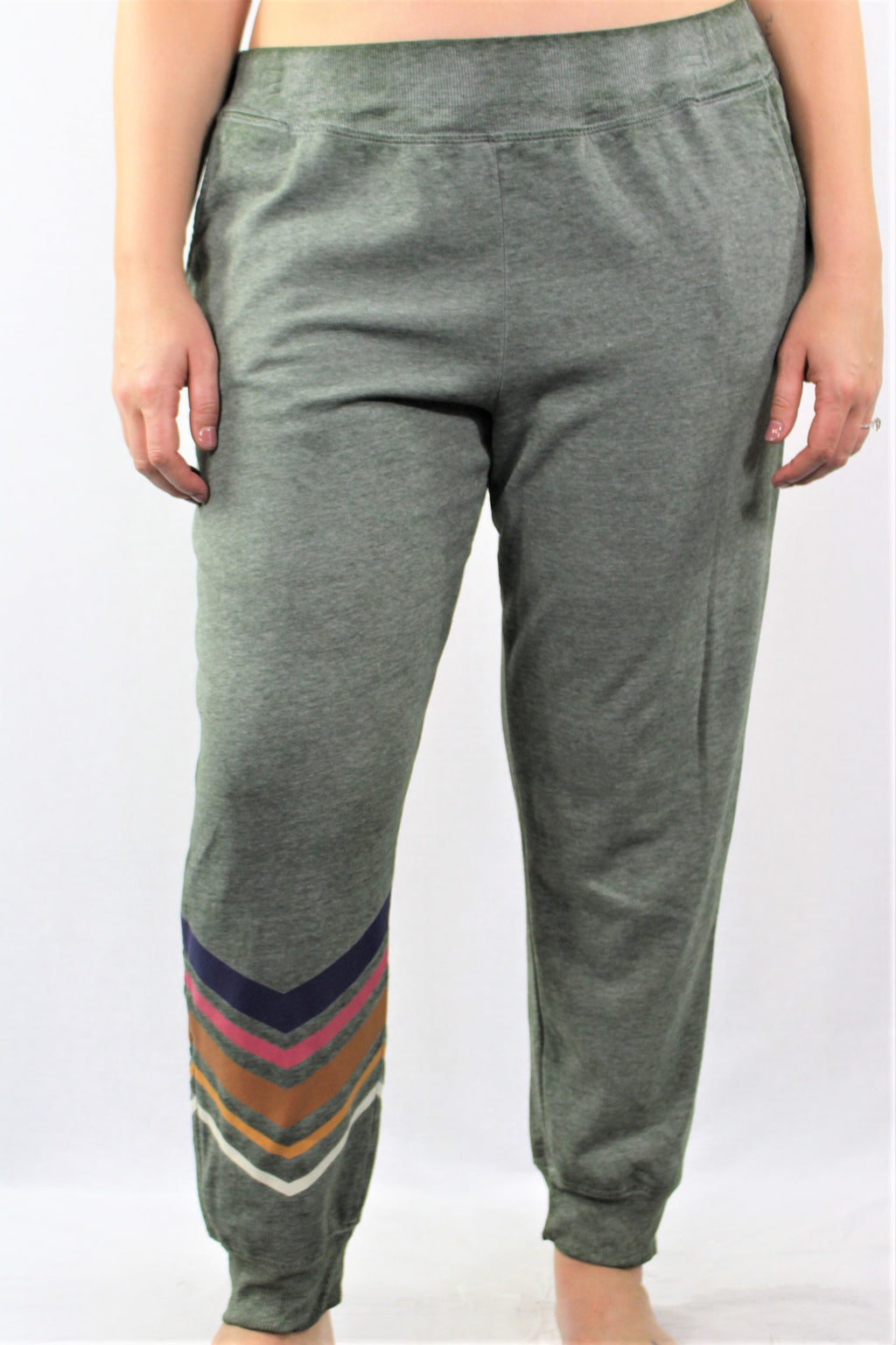 Plus Size Lightweight Jogger Sweatpants with Pockets