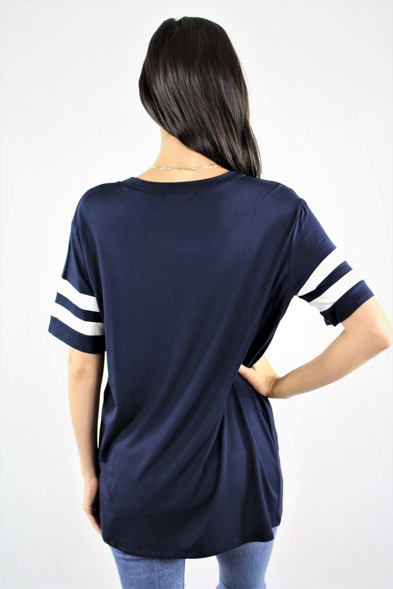 Short Sleeve Relaxed Fit Baseball Tee