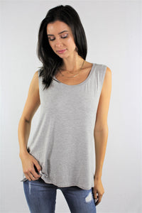Sleeveless Solid Top