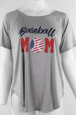 Plus Size Baseball Tee for Mom