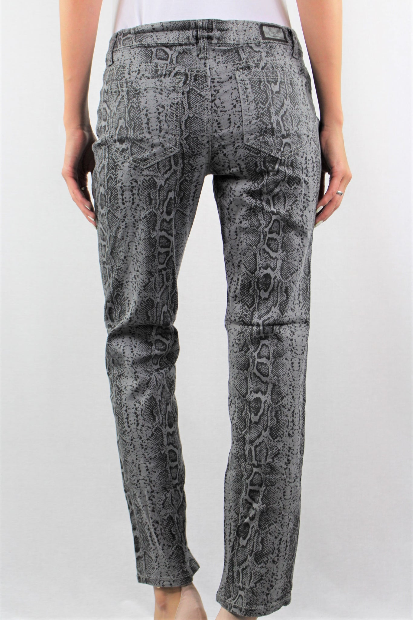 Snake Straight Cut Pants