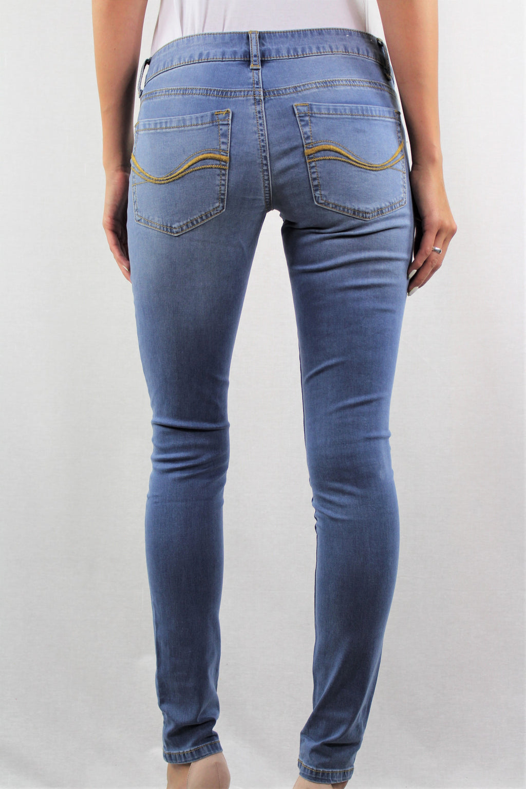 Women's Light Blue Skinny Jeans