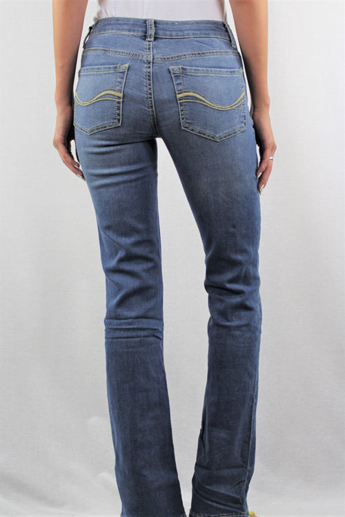 Women's Medium Light Blue Jeans