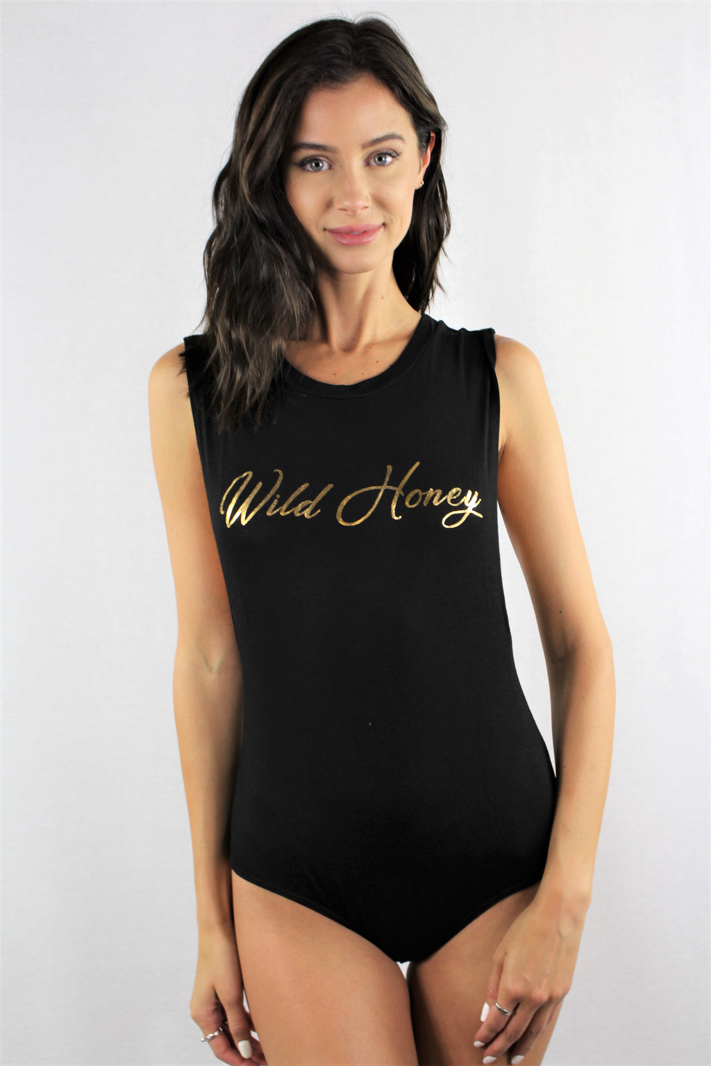 Wild Honey Sleeveless Bodysuit