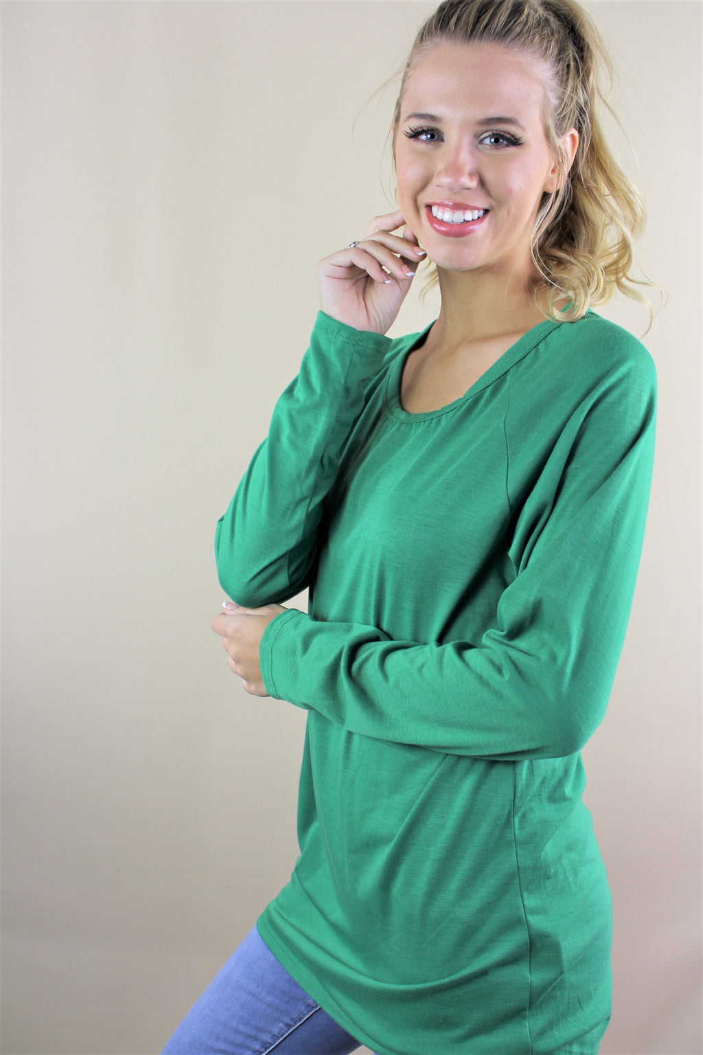 Women's Long Sleeve Basic Top