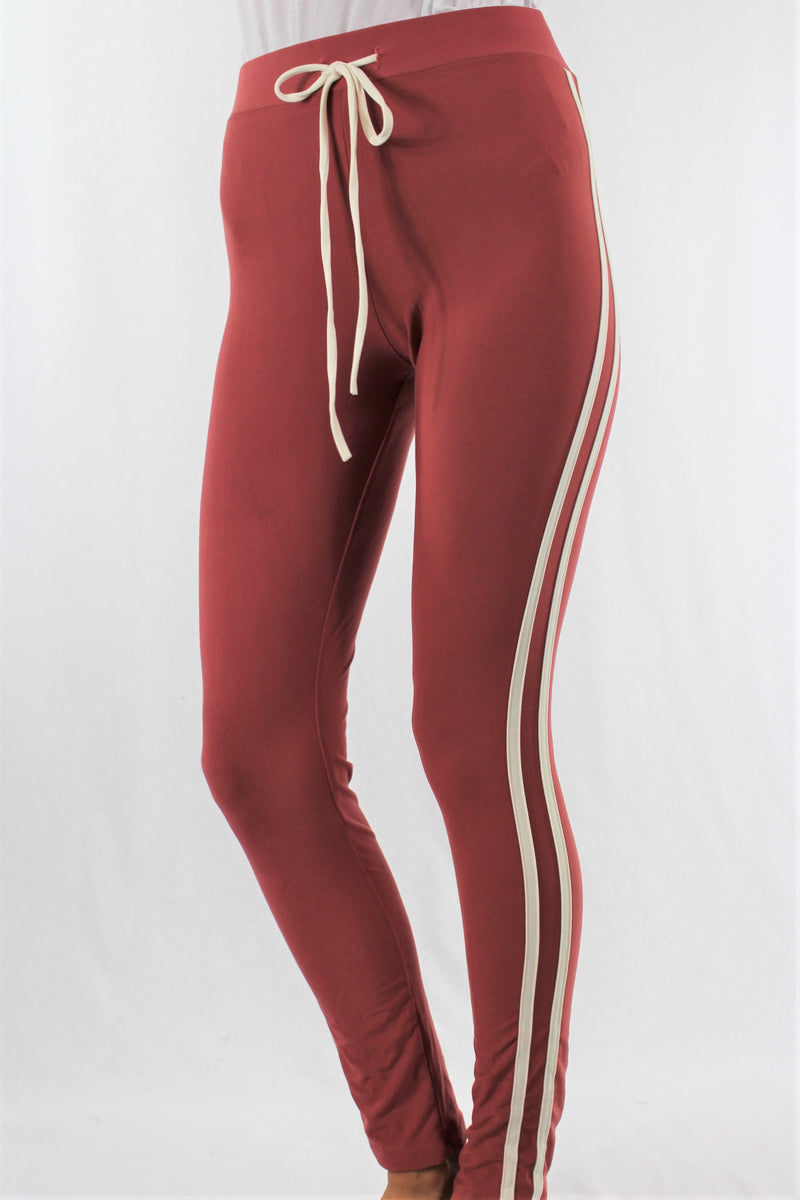 Women's Sweatpants with Stripe Detail