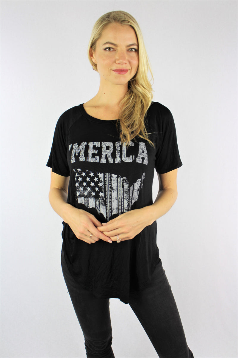 Women's 'Merica Short Sleeve T-Shirt