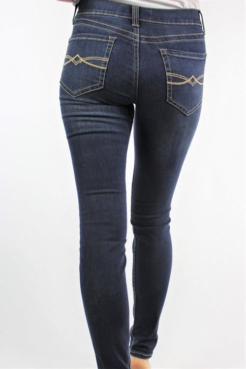 Women's Dark Wash Skinny Jeans