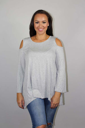 plus size shoulder 3/4 sleeve
