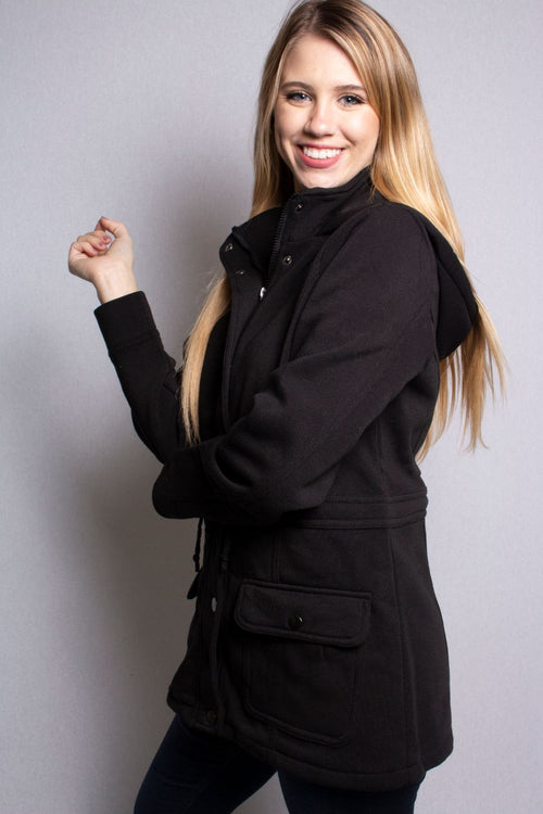 Women's Hoodie Jacket with Pockets