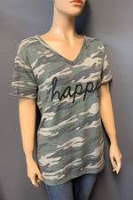 "Women's Printed ""happy"" Top (LAST PACK)"