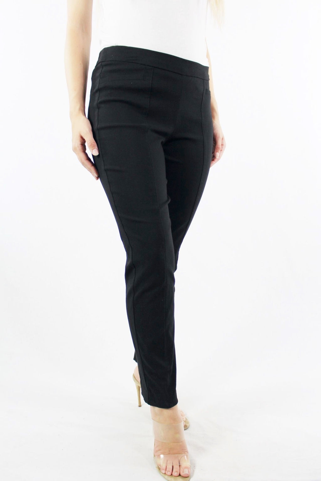 Women's Black Straight Leg Pants
