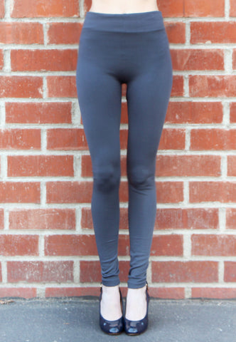 Grey Leggings