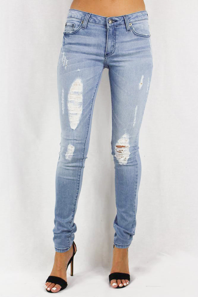 Light Stone Washed Jeans