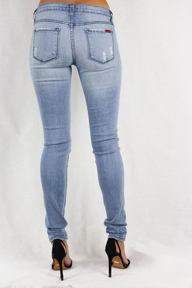 Stone Washed Women's Jeans