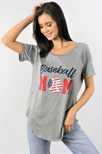 Women's Baseball Tee for Mom