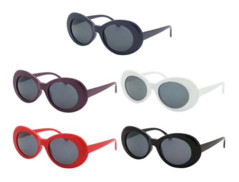 Retro Oval Shades