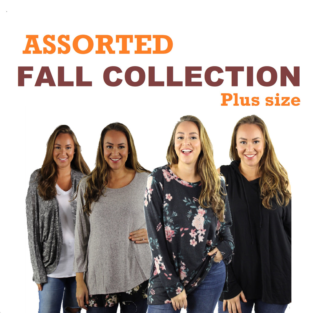 Women's Plus Assorted Fall 10 pack