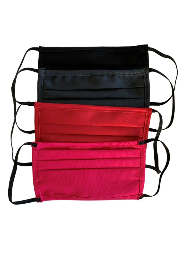 Assorted Comfortable Double Layer Face Mask / Nose Mask (Dark) (5)