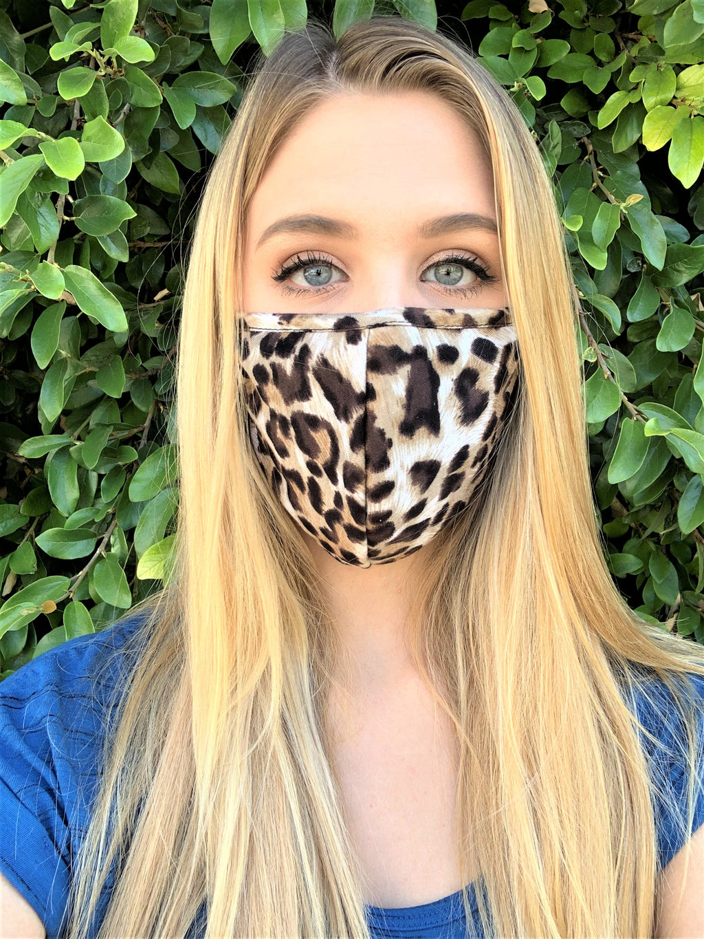 Leopard Print Comfortable Double Layer Face Mask
