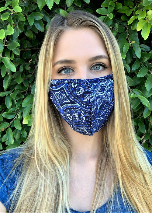 Assorted Comfortable Double Layer Printed Face Mask (20)