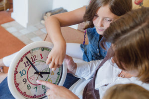 Help your child learn how to tell the time with our clocks
