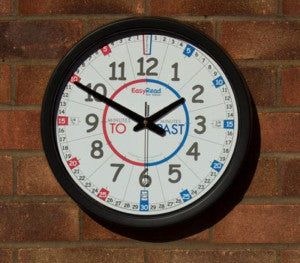 Easy but effective system to teach children how to tell the time.