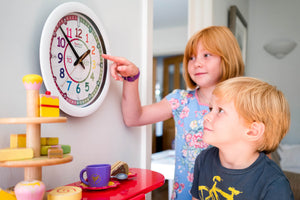 What sets EasyRead Time Teacher clocks apart from other brands?