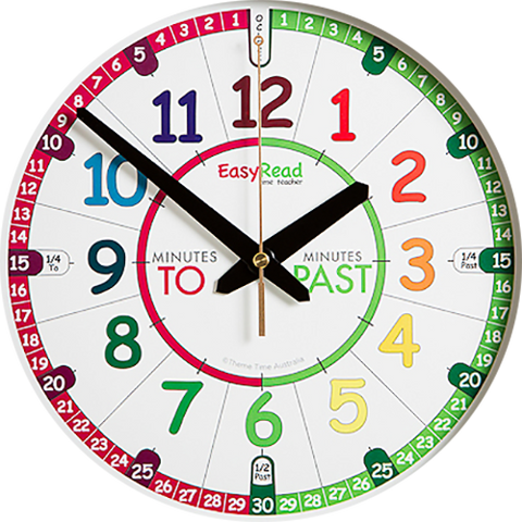 easyRead 3-step time teaching system