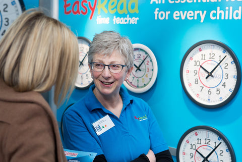 Sue Shackleton founder of EasyRead at Expo