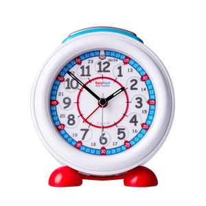 EasyRead Alarm Clock, Red/Blue 24 Hour (ERAC-RB-24)