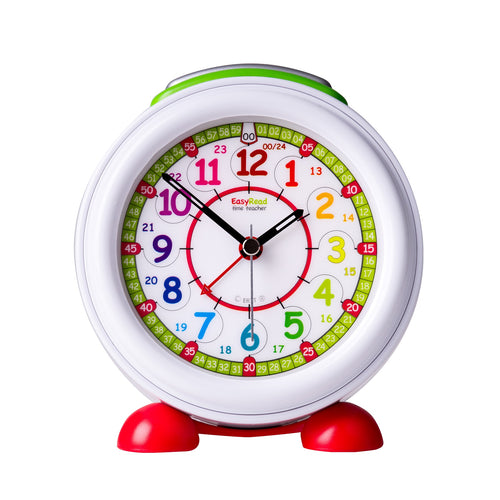 EasyRead Alarm Clock, Rainbow 24 Hour (ERAC-COL-24)